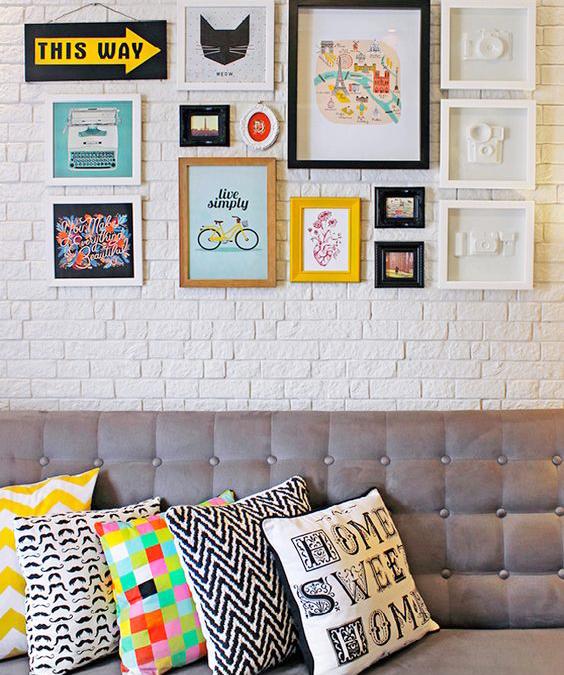 10 maneiras de usar cor na decoração de sua sala de estar ou de jantar