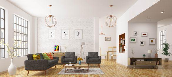 como decorar sala para dois ambientes