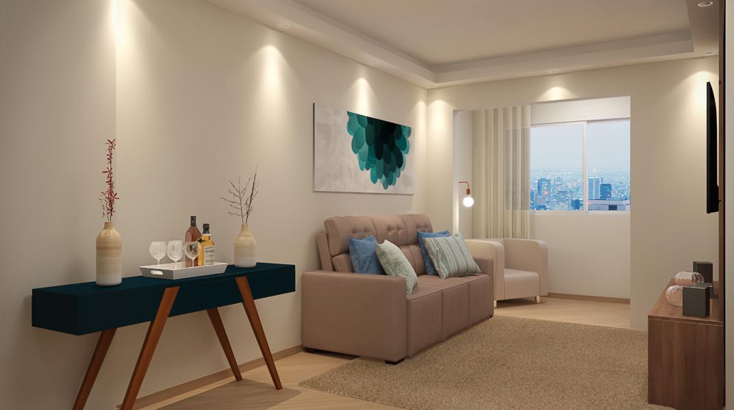 Sala decorada dos sonhos