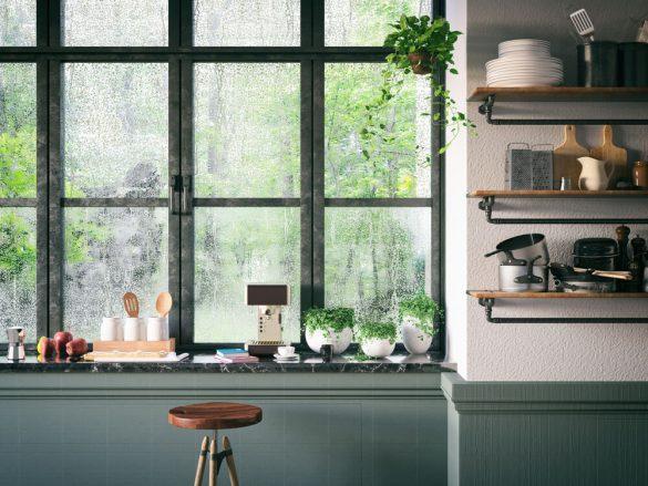 Suporte para utensílios de cozinha