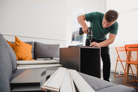 como montar móveis