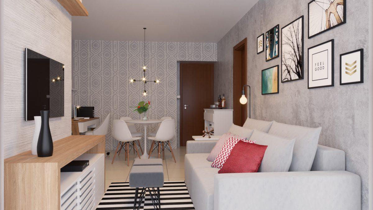 5 dicas para decorar sala pequena