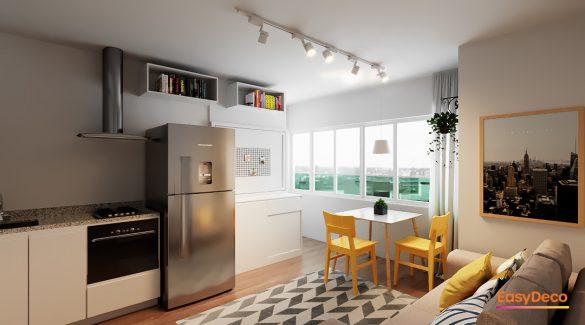 deixar o apartamento mais prático