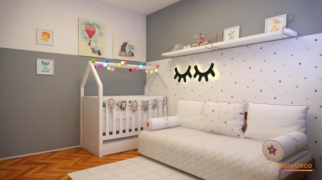 Criando o quarto de bebê dos sonhos