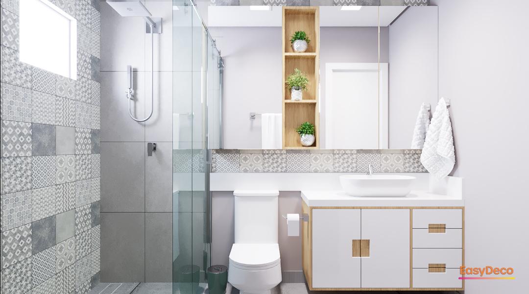 +50 banheiros pequenos decorados para você se inspirar
